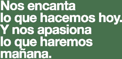 Slogan 50 años Grupo Lar